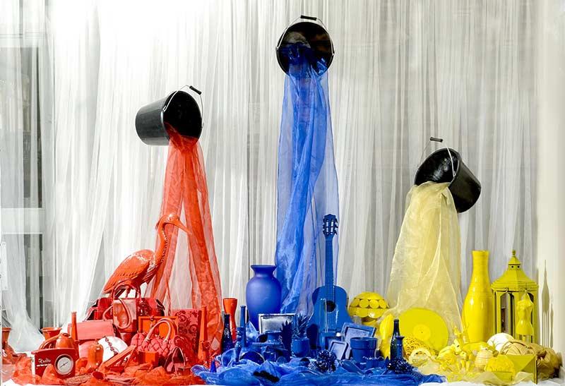 elige los colores del escaparate