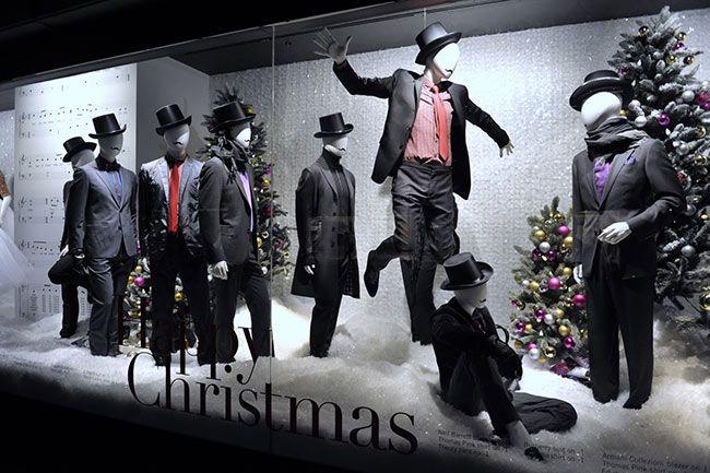 escaparate navidad holtren frew
