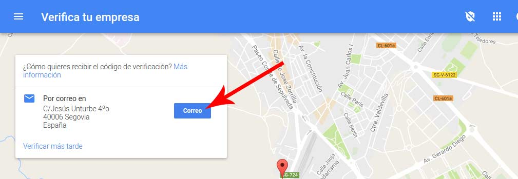 google my business tutorial paso4