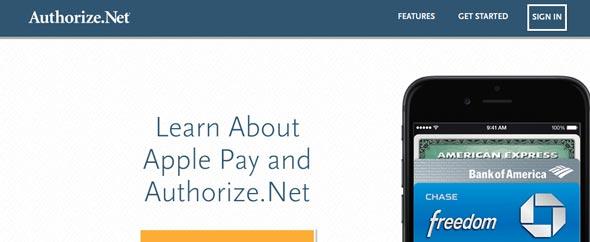 authorizenet método de pago