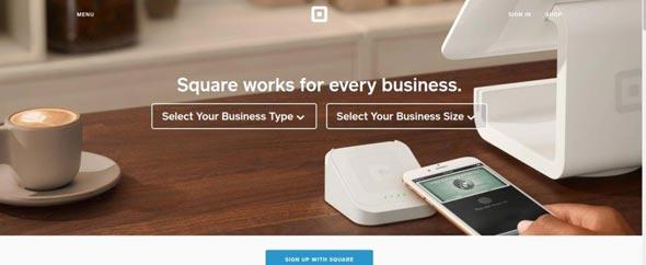 Square método de pago