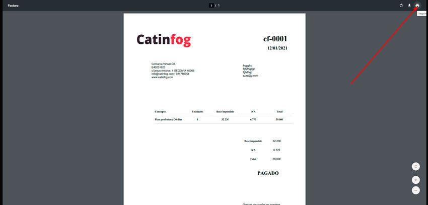 imprimir factura catinfog