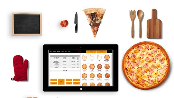 tpv pizzeria tablet